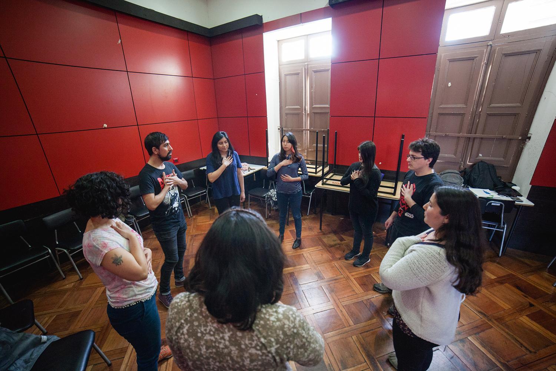 Carrera de arquitectura realiza sus talleres ad portas for Carrera de arquitectura